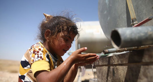 Israeli occupation reduces water quantities in many governorates