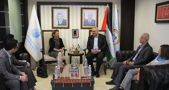 Minister Ghunaim and the representative of the Austrian government discuss strengthening the prospects for cooperation